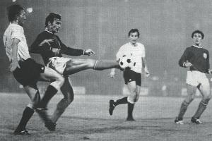 Roland Mitoraj en action, devant Horlaville et Lukic