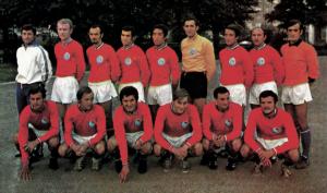 l'effectif du PSG en 1970-1971