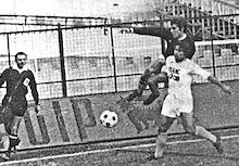 PSG-Marseille lors de la saison 1971-1972 lors des premières confrontations entre les deux clubs