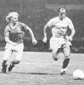 les premiers PSG-Nantes lors de la saison 1971-1972