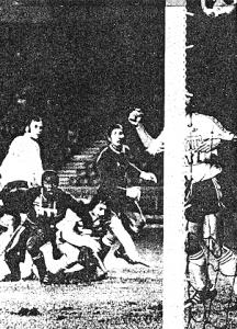 Le but de François M'Pelé contre Lens