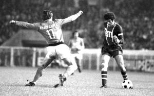 PSG-Saint-Etienne au début des années 1970