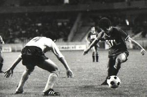 Mustapha Dahleb face à Nantes