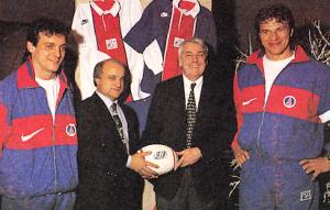 Jacques Fouroux et Charles Bietry, le rêve d'un PSG à treize...