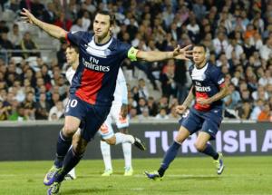 Ibrahimovic, roi des buteurs face à Marseille