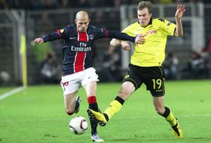 Christophe Jallet à Dortmund