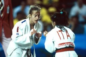 Cécile Nowak, championne olympique à Barcelone en 1992
