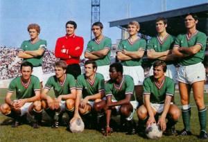 Les Verts aux débuts des années 1970