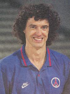 L'entraîneur Pierre Bezault