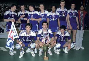 PSG volley, champion de France en 1993