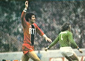 Dahleb, bourreau des Verts dans les années 1970