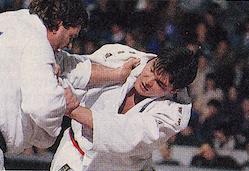 David Douillet, star de judo français