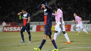 Pastore lors de la défaite face à Evian TG