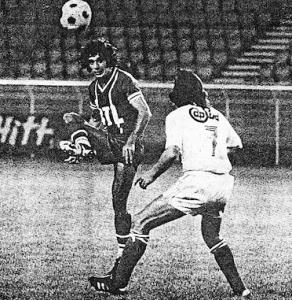 Humberto, buteur face à Avignon en 1976