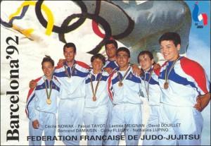 Douillet-Nowak, deux médaillés au PSG judo