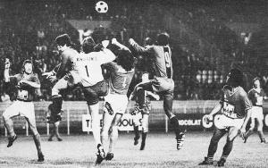François M'Pelé, premier buteur du PSG face aux Stéphanois en 1974