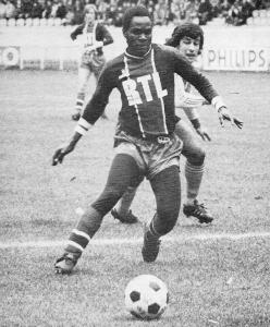 François M'Pelé en action face à Lens