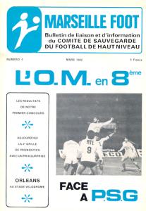 """""""le bulletin de liaison et d'information du comité de sauvegarde du football de haut niveau""""..."""