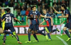 Paris avait sauvé un point à Saint-Etienne grâce à Matuidi