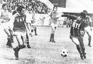 Dahleb face à Reims en 1975
