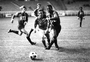 PSG-Strasbourg en 1975