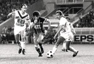 Dahleb en action face aux Girondins