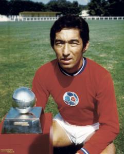 Jean Djorkaeff, premier capitaine du PSG