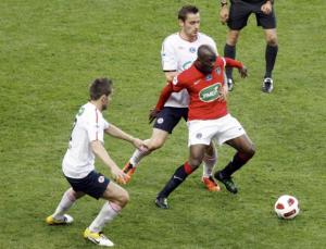 La dernièe défaite des Parisiens : en finale de la Coupe de France contre Lille en 2011