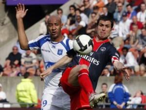 Dernier but pour Pauleta au PSG, son 200eme depuis son arrivée en France