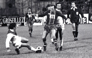 Bianchi en duel à Monaco au   milieu des années 1970
