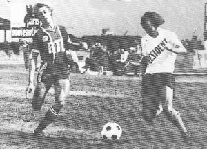 Lionel Justier en duel face à Alain Keruzoré