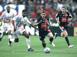 la finale de Coupe en 2006 face à Marseille avec Rothen et Beye