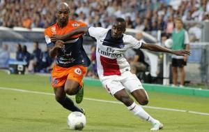 la saison dernière le PSG de Matuidi avait débuté par un nul à Montpellier (1-1)