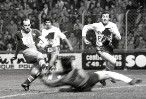 goleador Bianchi en action