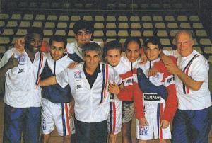 René Acquaviva, Gilbert Délé et la dream team du PSG