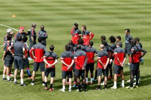 2 juillet 2012 : les premiers mots d'Ancelotti