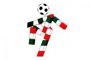 Ciao, la mascotte de la Coupe du monde en Italie