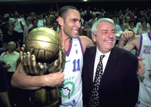 le PSG Basket, champion de France en 1997