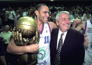 le PSG Basket, champion de France en 1997