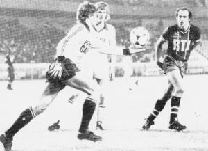 Bianchi face à Bas, le gardien de Valenciennes