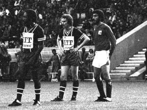 Paulo Cesar au tournoi de Paris 1978 face à l'Iran