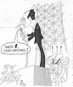 Chirac-Borelli, la guerre de Paris 1 n'aura pas lieu...
