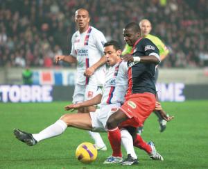 la dernière victoire de Lyon au Parc des Princes en 2007