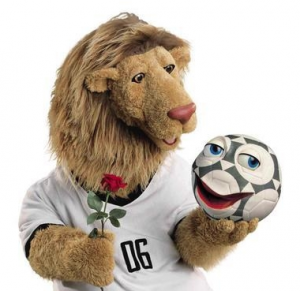 Goleo, le lion mascotte