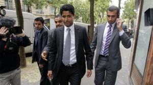 30 juin 2011, un peu avant midi : la France découvre le nouvel homme fort du PSG, Nasser al-Khelaifi