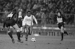M'Pelé en action face à Nice