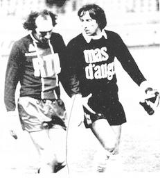 Bianchi et Migeon à la fin du match