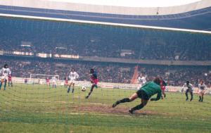 Le penalty réussi par M'Pelé