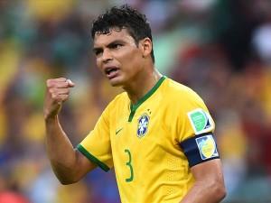 Thiago Silva, miraculé avec le Brésil