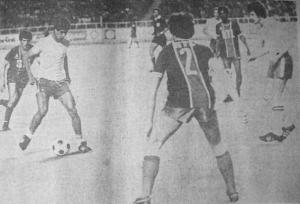 Un rare cliché existant de la défaite du PSG à Alger